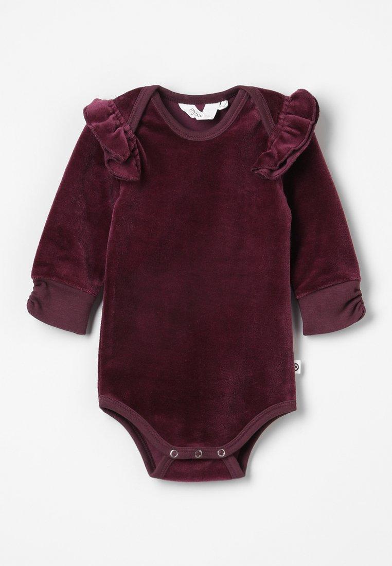 Müsli by GREEN COTTON - FRILL BABY - Body - dark berry