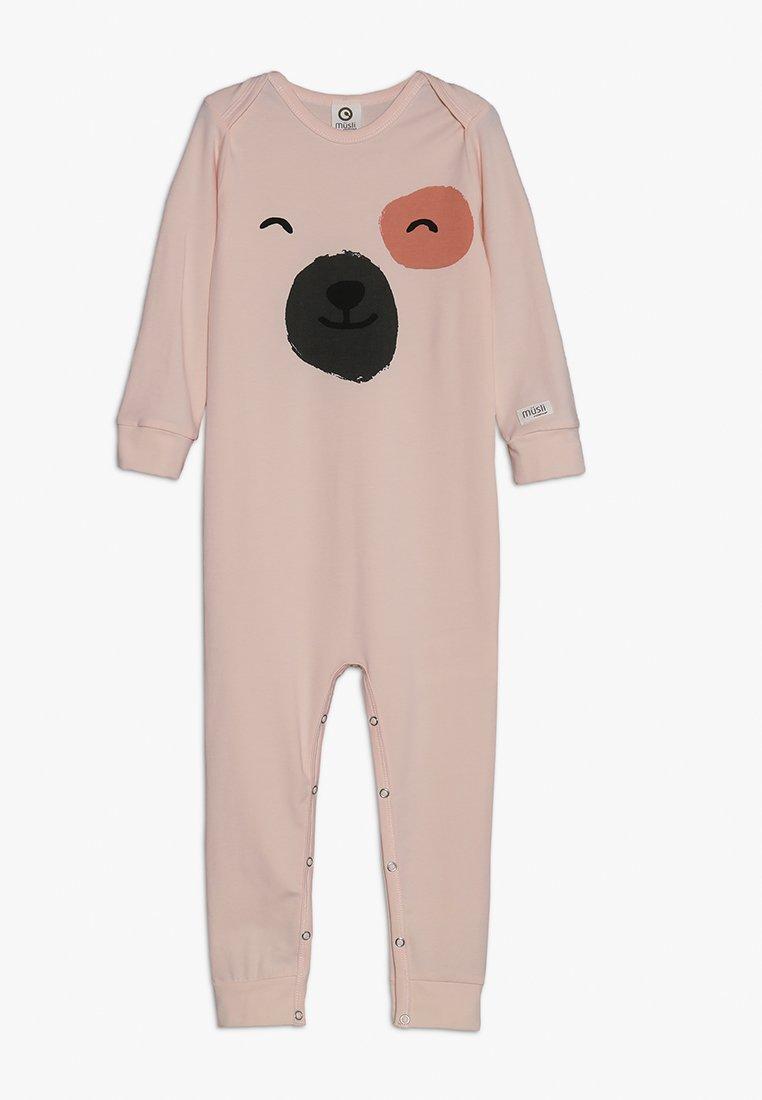 Müsli by GREEN COTTON - SPOT FRONT BODYSUIT BABY - Pyjama - light peach
