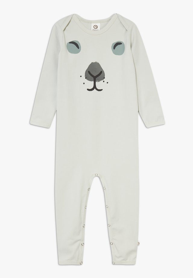 RABBIT FRONT BABY ZGREEN - Pyjama - blue fox