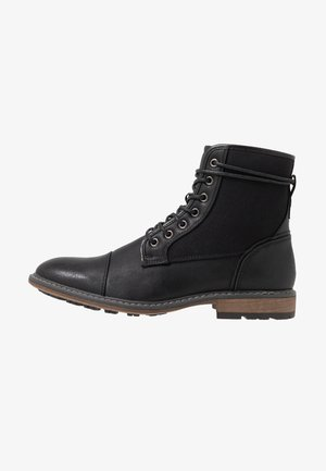 BOILR - Lace-up ankle boots - black