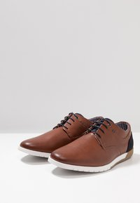 Madden by Steve Madden - PUNTE - Chaussures à lacets - cognac - 2