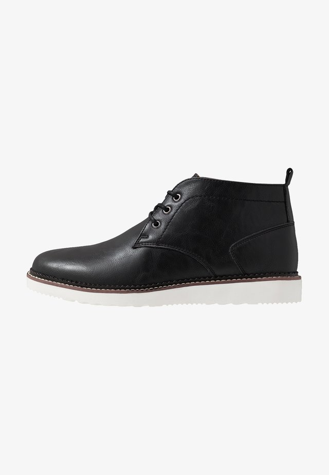 DARKOT - Casual lace-ups - black