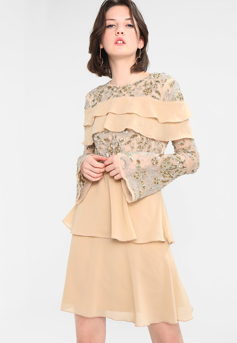 Maya Deluxe - Cocktail dress / Party dress - nude