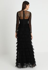 Maya Deluxe - EMBELLISHED MAXI DRESS WITH TIERED SKIRT - Occasion wear - black - 3