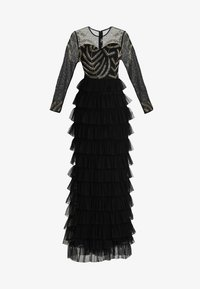 Maya Deluxe - EMBELLISHED MAXI DRESS WITH TIERED SKIRT - Occasion wear - black - 6
