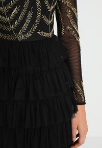 Maya Deluxe - EMBELLISHED MAXI DRESS WITH TIERED SKIRT - Occasion wear - black - 5