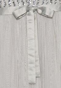 Maya Deluxe - STRIPE EMBELLISHED MAXI DRESS WITH BOW TIE - Ballkjole - soft grey - 2