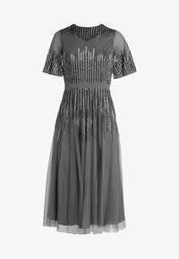 Maya Deluxe - EMBELLISHED MIDI DRESS WITH HIGH NECK - Cocktailkjole - charcoal - 4