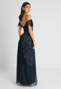 Maya Deluxe - COLD SHOULDER EMBELLISHED MAXI DRESS - Occasion wear - navy - 3