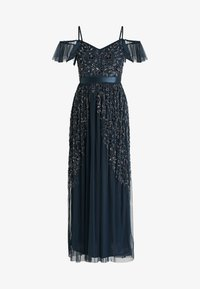 Maya Deluxe - COLD SHOULDER EMBELLISHED MAXI DRESS - Occasion wear - navy - 4