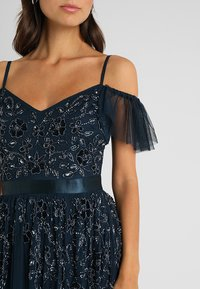 Maya Deluxe - COLD SHOULDER EMBELLISHED MAXI DRESS - Occasion wear - navy - 5