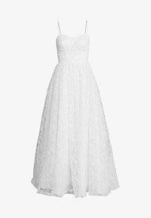 CORSET BODICE BRIDAL GOWN - Suknia balowa - white