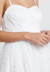 Maya Deluxe - CORSET BODICE BRIDAL GOWN - Suknia balowa - white - 5