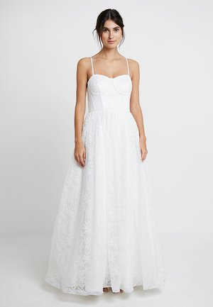 CORSET BODICE BRIDAL GOWN - Robe de cocktail - white