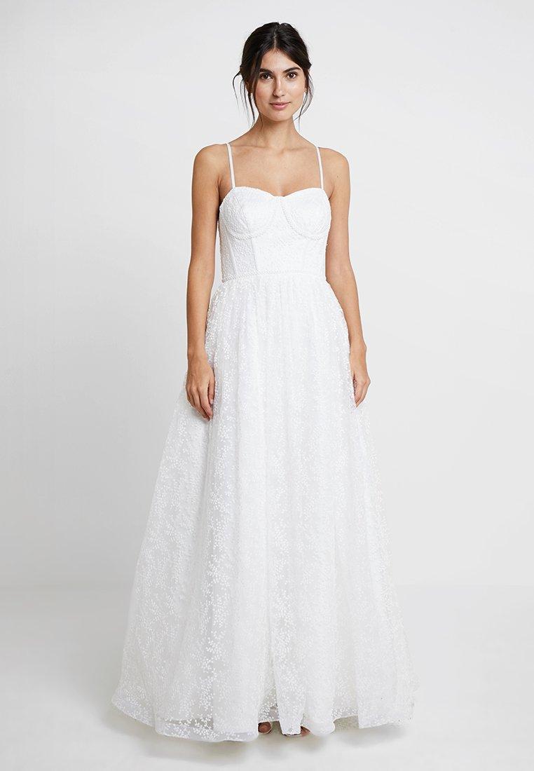 Maya Deluxe - CORSET BODICE BRIDAL GOWN - Suknia balowa - white