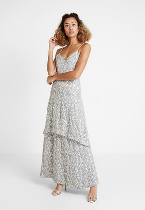 ALL OVER CAMI  DRESS - Gallakjole - grey