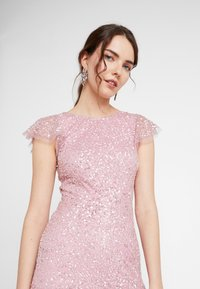 Maya Deluxe - ALL OVER EMBELLISHED MAXI DRESS - Ballkjole - pink - 5
