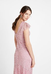 Maya Deluxe - ALL OVER EMBELLISHED MAXI DRESS - Ballkjole - pink - 4