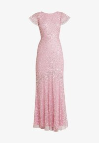 Maya Deluxe - ALL OVER EMBELLISHED MAXI DRESS - Ballkjole - pink - 7