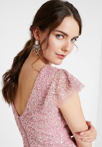 Maya Deluxe - ALL OVER EMBELLISHED MAXI DRESS - Ballkjole - pink - 6