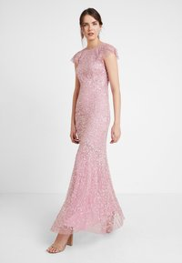 Maya Deluxe - ALL OVER EMBELLISHED MAXI DRESS - Ballkjole - pink - 2