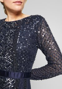 Maya Deluxe - ALL OVER EMBELLISHED SPOT MAXI DRESS - Occasion wear - navy - 5