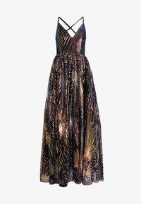 Maya Deluxe - ALL OVER SEQUIN MAXI DRESS WITH THIGH SPLIT - Společenské šaty - multi - 4