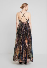 Maya Deluxe - ALL OVER SEQUIN MAXI DRESS WITH THIGH SPLIT - Společenské šaty - multi - 2