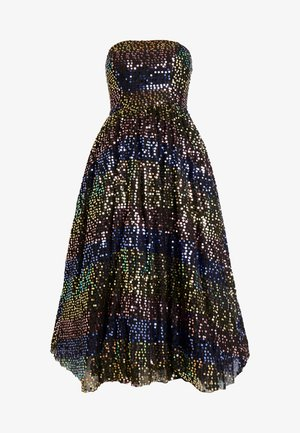 SEQUIN BANDEAU MIDAXI DRESS - Robe de soirée - multi