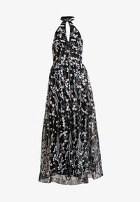 Maya Deluxe - ALL OVER EMBROIDERED PROM MAXI DRESS WITH KEYHOLE - Occasion wear - multi - 4