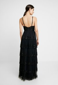 Maya Deluxe - EMBELLISHED CAMI MAXI DRESS WITH TIERED SKIRT - Ballkjole - black - 3