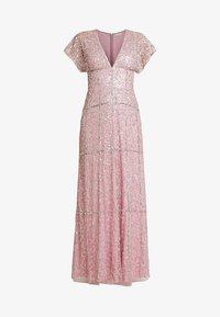 Maya Deluxe - EMBELLISHED V NECK MAXI DRESS - Vestido de fiesta - pink - 5