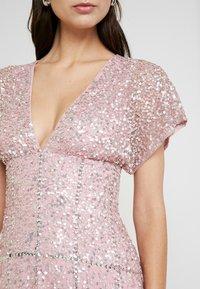 Maya Deluxe - EMBELLISHED V NECK MAXI DRESS - Vestido de fiesta - pink - 6