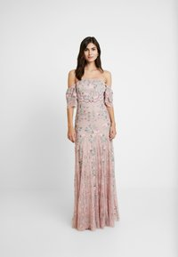 Maya Deluxe - ALL OVER MAXI DRESS WITH DETAILING - Iltapuku - soft pink - 2