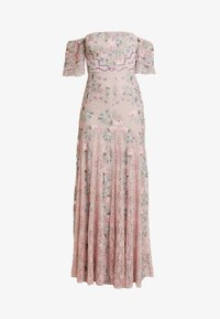Maya Deluxe - ALL OVER MAXI DRESS WITH DETAILING - Iltapuku - soft pink - 5