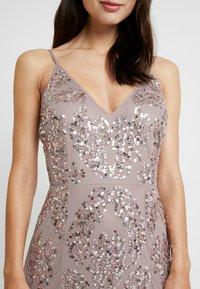 Maya Deluxe - EMBELLISHED CAMI MAXI DRESS - Occasion wear - dusty purple - 6