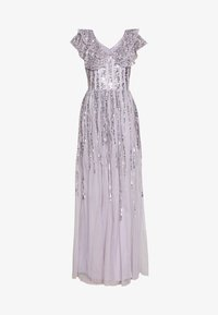 Maya Deluxe - RUFFLE SLEEVE MAXI DRESS - Suknia balowa - soft lilac - 5