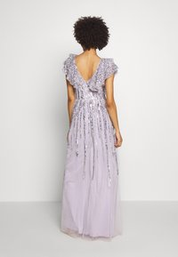 Maya Deluxe - RUFFLE SLEEVE MAXI DRESS - Suknia balowa - soft lilac - 3
