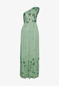 Maya Deluxe - ONE SHOULDER EMBELLISHED MAXI DRESS - Occasion wear - green - 3