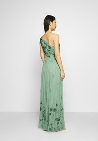 Maya Deluxe - ONE SHOULDER EMBELLISHED MAXI DRESS - Occasion wear - green - 2