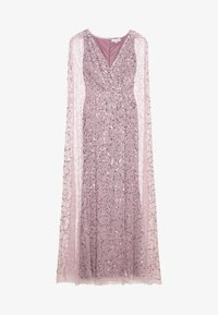 Maya Deluxe - WRAP MAXI DRESS WITH CAPE DETAIL - Ballkjole - lilac - 0