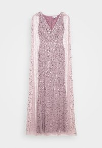 Maya Deluxe - WRAP MAXI DRESS WITH CAPE DETAIL - Occasion wear - lilac - 5