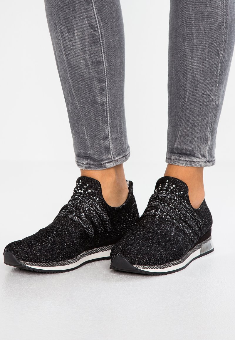 Marco Tozzi - Trainers - black metallic