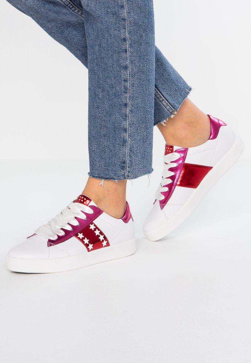 Marco Tozzi - Sneaker low - white/pink metallic