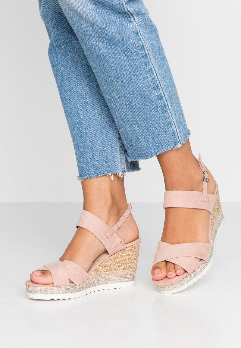 Marco Tozzi - High heeled sandals - rose