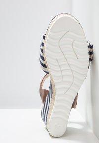 Marco Tozzi - High heeled sandals - navy - 6