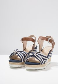 Marco Tozzi - High heeled sandals - navy - 4