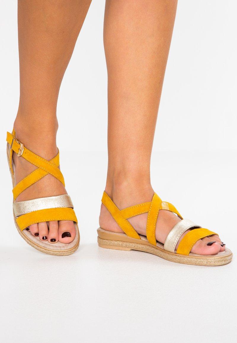 Marco Tozzi - Sandals - saffron