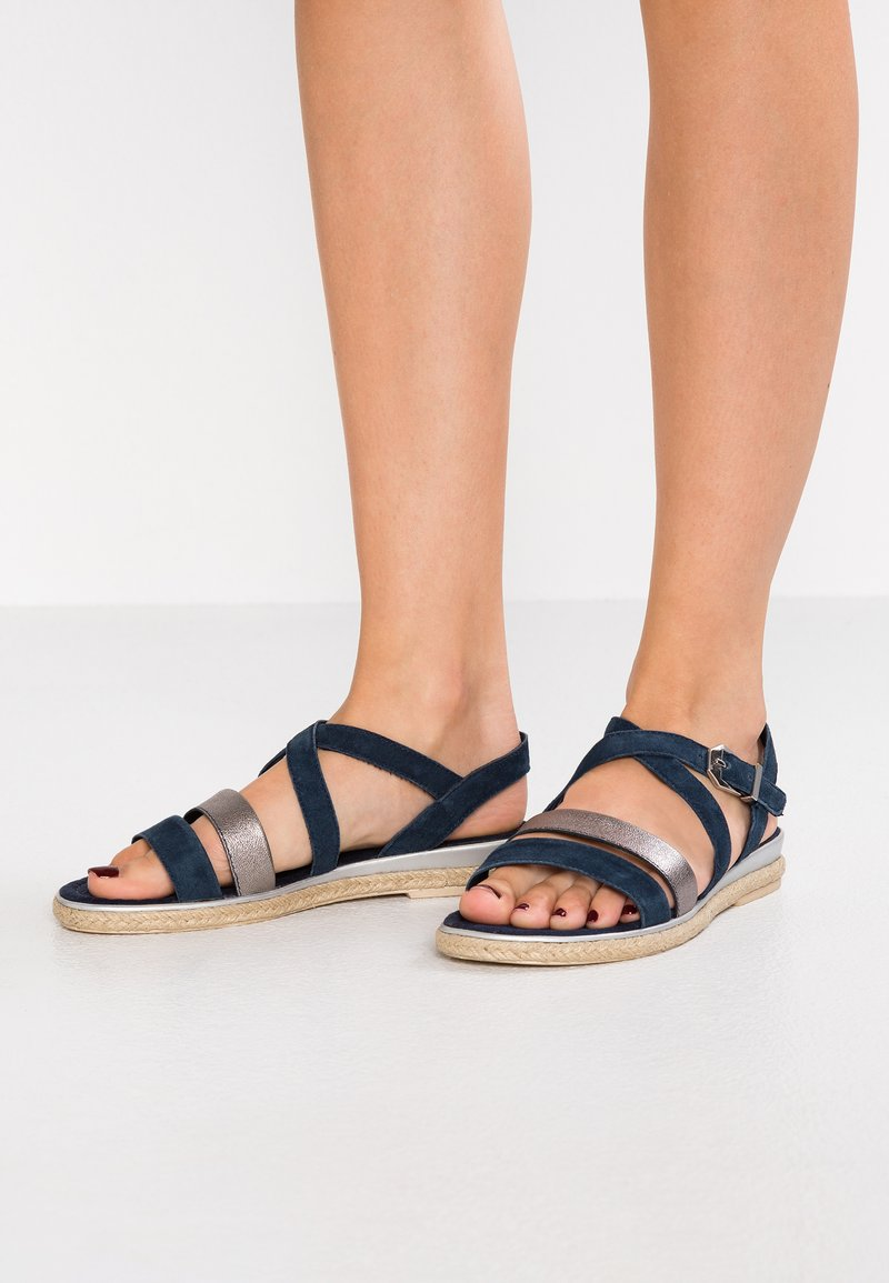Marco Tozzi - Sandals - navy