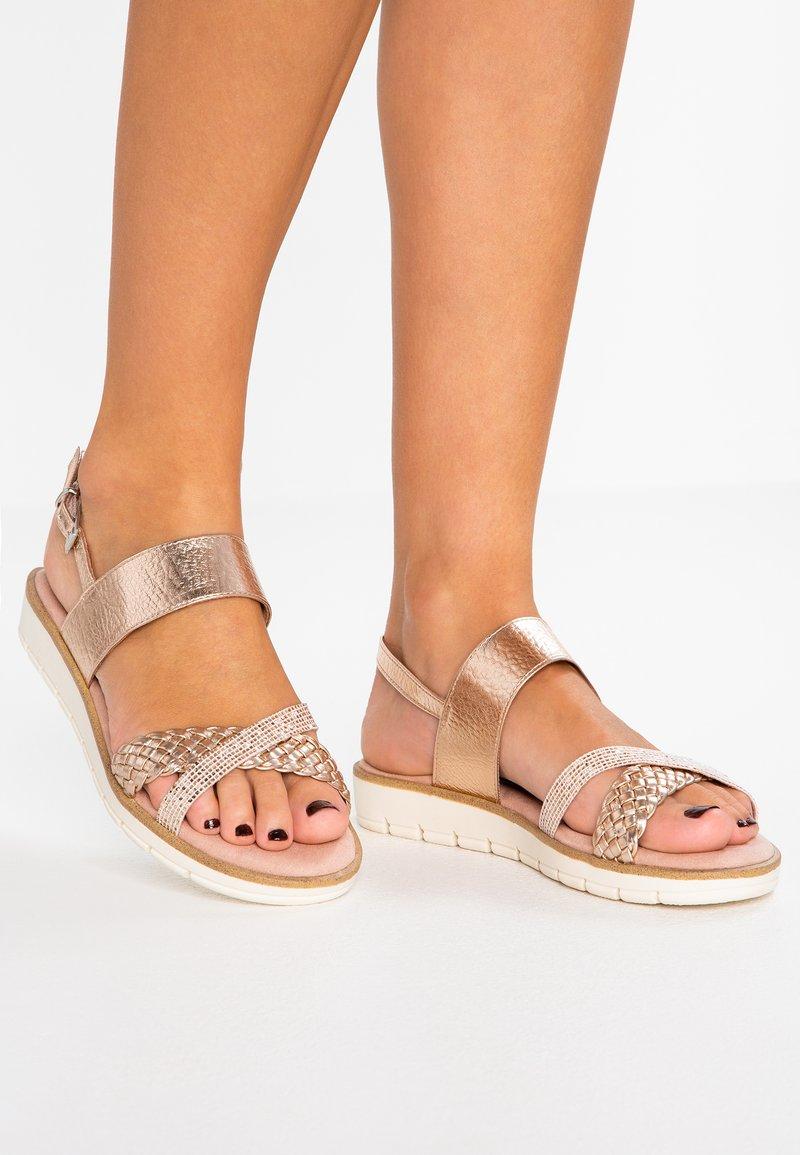 Marco Tozzi - Platform sandals - rose metallic